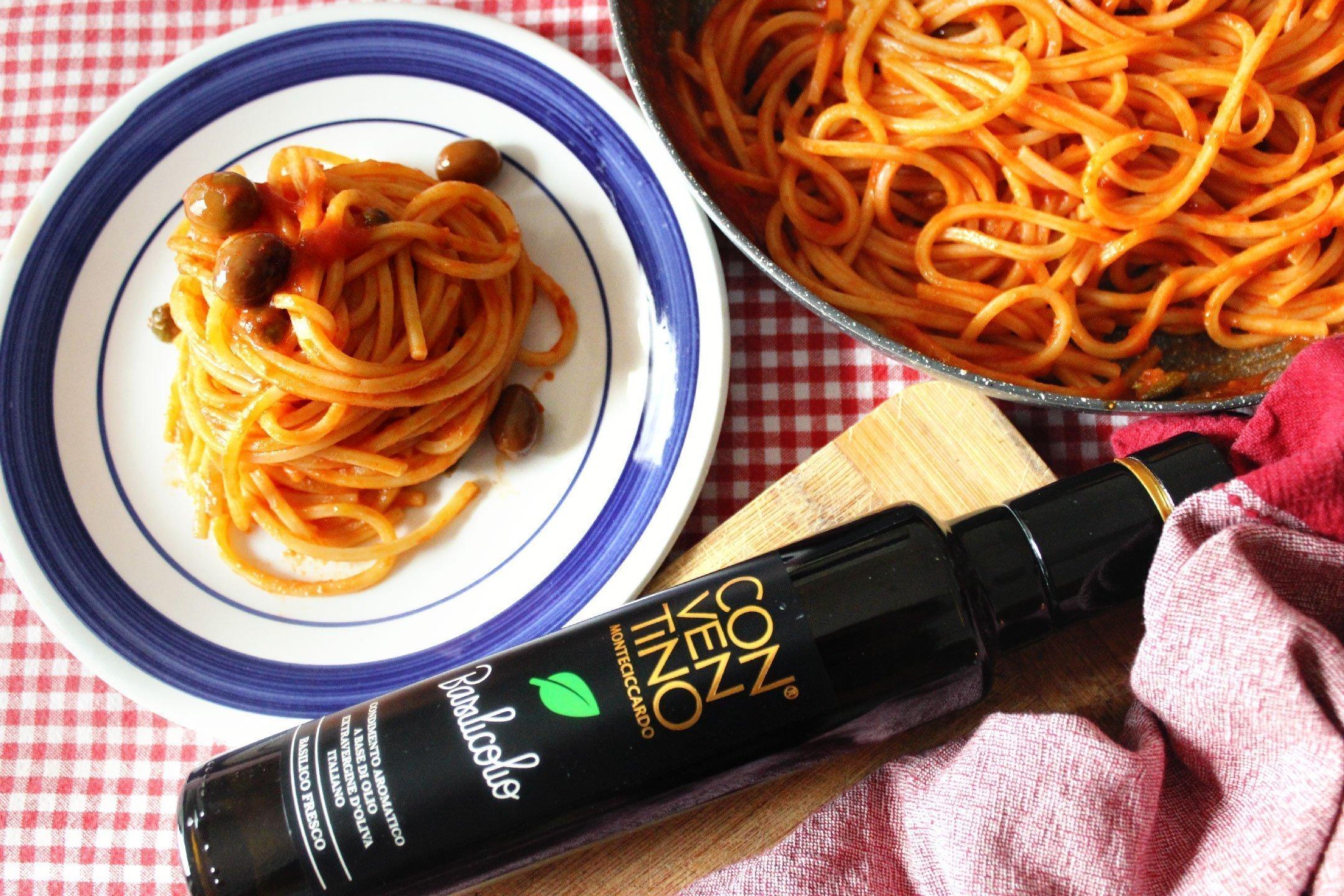 Ricetta Spaghetto e Basilicolio