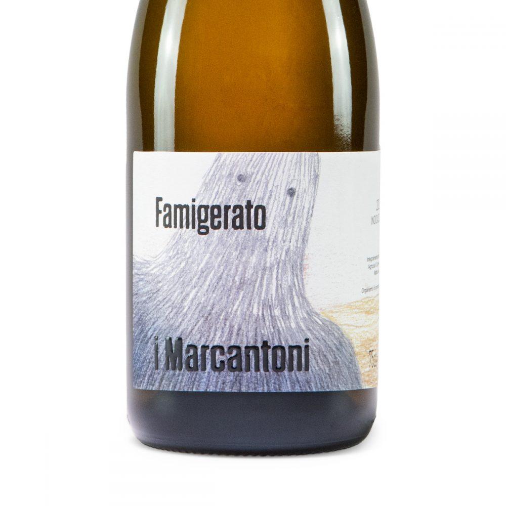 Famigerato 100% Famoso I Marcantoni dettaglio bottiglia